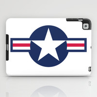 US Air force Roundel insignia iPad Case by Bruce Stanfield