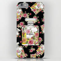 Floral Bottle,inspiring by Chanel 9 iPhone & iPod Case by Flowerstyle