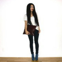 Asos Bag, Asos Shoes, Asos Top //    Hallucination by Maggie W // LOOKBOOK.nu