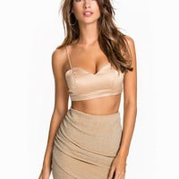 Satin Strap Top, NLY One