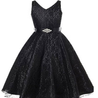 "The ""Kinsley"" Girls Little Black Dress"