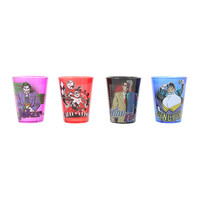 DC Comics Villains In Uniform Glassware Set