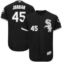 Chicago White Sox Michael Jordan #45 Away Jersey