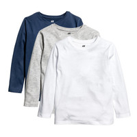 3-pack Jersey Shirts - from H&M