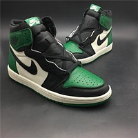 Air Jordan 1 Retro High OG Pine Green Men Sneakers