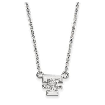 NCAA 10k White Gold U of Tennessee Lady Volunteers Pendant Necklace