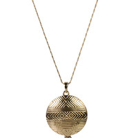 Tribal Print Locket