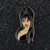 Elvira Enamel Pin