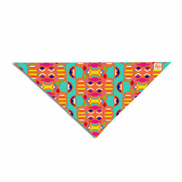 "Miranda Mol ""Summer Fun"" Treal Orange Pet Bandana"