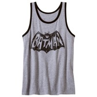 Men's Batman Vintage '66 Graphic Tank - Heather Gray