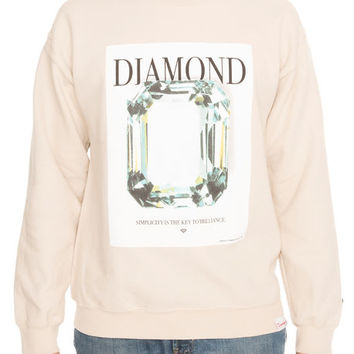 The Mondrian Crewneck Sweatshirt in Cream