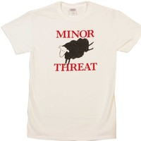 Minor Threat Black Sheep Shirt on sale from OldSchoolTees.com | More Rock, Movie, Vintage, Graphic Tees available from Old SchoolTees.com