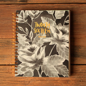 2016 One Canoe Two Planner - Floral