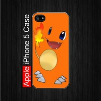 iPhone 5 Case,Charmander pokemon iPhone 5 Case, Black Case