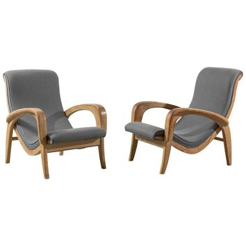 Pair of Lounge Chairs for the Organic Design Competition, Museum of Modern Art