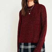 Pins & Needles Lofty Fisherman Funnel Neck Jumper | Urban Outfitters