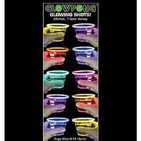 Glowing Shotglasses 24 Pk - Spencer's