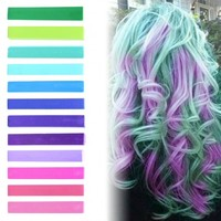 EXOTIC BLOSSOM ombre hair chalk set of 12 | HairChalk