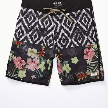 Lira Point Break Boardshorts - Mens Board Shorts - Black