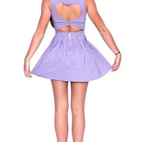Femme Fatale dress in lilac  | Show Pony Fashion online shopping
