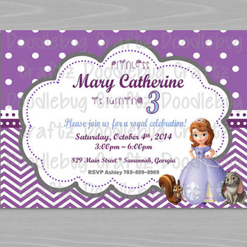 shop disney princess invitations on wanelo, Party invitations