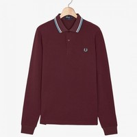 Fred Perry - Twin Tipped Long Sleeve Shirt