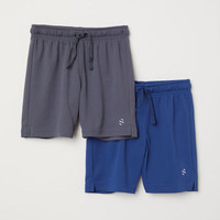 2-pack Sports Shorts - from H&M