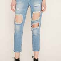 Contemporary Distressed Jeans | Forever 21 - 2000185809