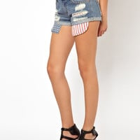 Primark | Primark American Flag Drop Pocket Short at ASOS