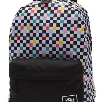 VANS PARTY CHECKERED BACKPACK