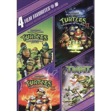 Teenage Mutant Ninja Turtles Collection: 4 Film Favorites (2 Discs) (Widescreen) (Special edition)
