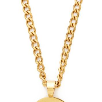 Chanel Turn Lock Necklace (Previously Owned)