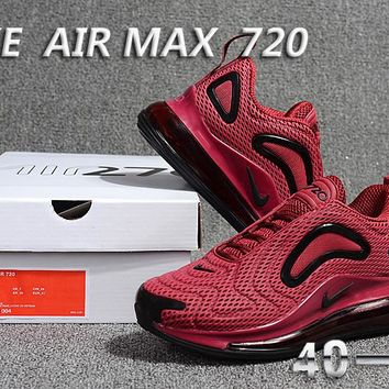 Nike Air Max 720 Fashion Casual Running Sneakers Sport Shoes Red/Black