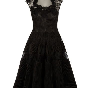 QUETIAA - Lace dress - Black | Womens | Ted Baker UK