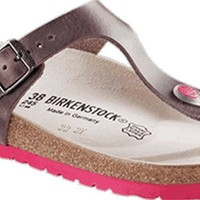 Birkenstock Thong ''Gizeh'' from Leather in Antik Holunder 37.0 EU W
