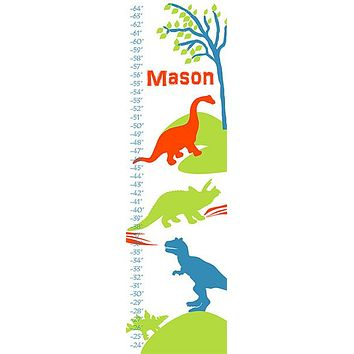 Personalized Dinoland Growth Chart