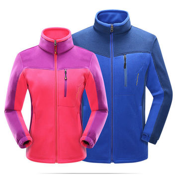 2016 Autumn Winter Tech Fleece Jacket Men Women Outdoor Thermal Waterproof Camping Hiking Jacket Softshell Cycling Coat