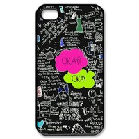 John Green Okay The Fault in Our Stars Phone Case Protect iPhone 4 4S