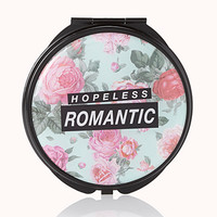 Hopeless Romantic Mirror Compact