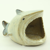 Open Mouth Shark Kitchen Sponge/Scrub Holder