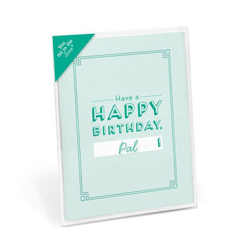 Happy Birthday Fill in the Love® Card Booklet