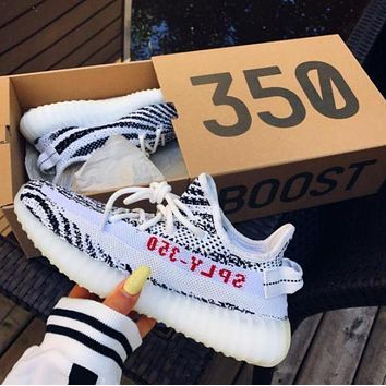 DCCK ADIDAS Yeezy Boost 350 V2 Women Fashion Running Sneakers Sport Shoes