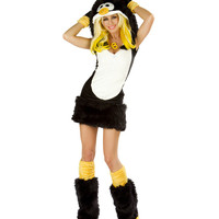 J Valentine Sexy Penguin Costume - XL Only