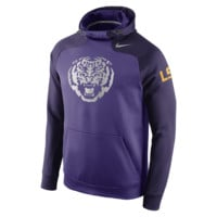 Nike Championship Drive Hyperspeed Pullover (LSU) Men's Training Hoodie