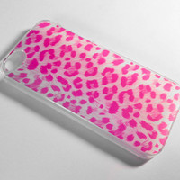Pink Cheetah iPhone 4/4S Case by VanityCases on Etsy