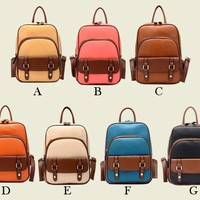 Vintage Style Backpack for Women from Hallomall
