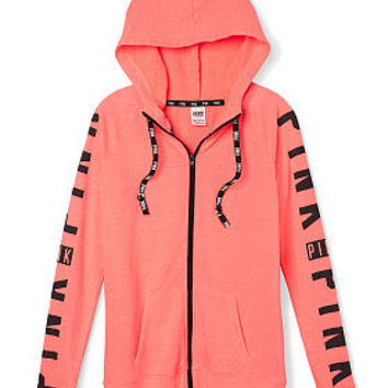 Wear Everywhere Full-Zip - PINK - Victoria's Secret