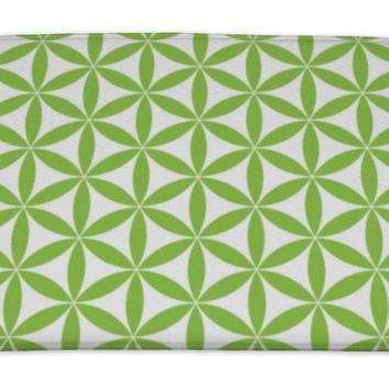 Bath Mat, Flower Of Life Pattern Sacred Geometry The Easiest But Most Magical Pattern On
