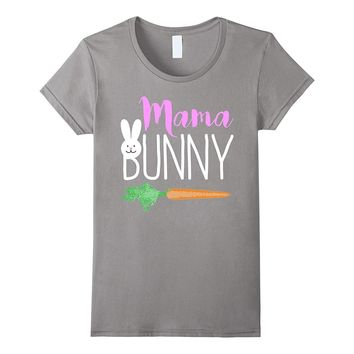 Easter Mama Bunny Family Couples T-Shirt
