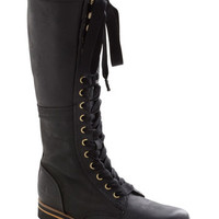 Industrial Evolution Boot in Black | Mod Retro Vintage Boots | ModCloth.com